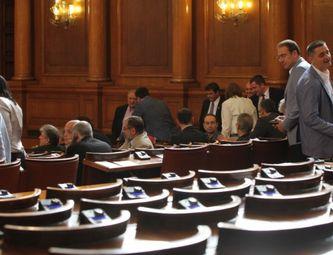 Парламентът гласува окончателно Конституцията