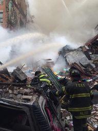 Сграда се срути в Ню Йорк